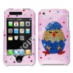 Apple iPhone 3G/3GS Pink Swarovski Cover (Chick & Egg)