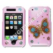 Apple iPhone 3G/3GS Pink Swarovski Cover (Butterfly)